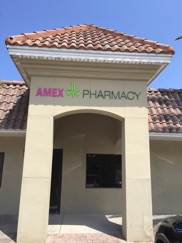 amex door